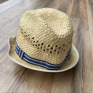 H&M Kids Straw Rimmed and Lined Fedora